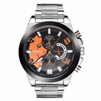 LongBo men's wrist watch logo prices private label watch manufacturers