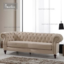 European Style Chesterfield Loveseat Sofa Home Furniture