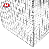 Low price high quality hot sale galvanized welded gabion wire mesh /gabion box /gabion basket