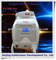 2013 New design E-light+IPL+RF machine tattooing Beauty machine cosmetology instrument case plastic mould