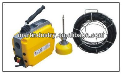 "6"" Electric Drain Cleaner/Sewer Snake S-150,CE Certificate"