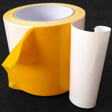 Double sided self adhesive carpet binding tape carpet seam tape