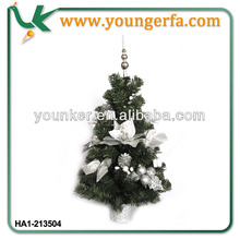 2014 Hot sale Snowing PVC Christmas Tree