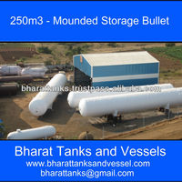 Quot 250m3 Mounded Storage Bullet