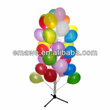 Chrismas plastic tree stand for balloon decoration