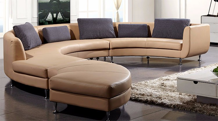 best price public area nubuck sectional sofa