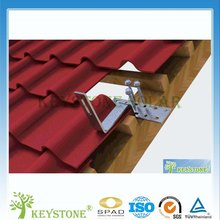 2016 Newest tile roof solar panel mounting for solar energy with roof hook