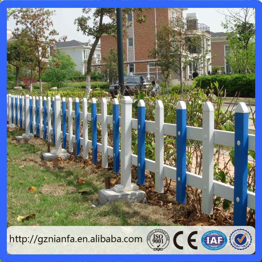 cheap decorative flower garden fencing/plastic garden fence(guangzhou factory)