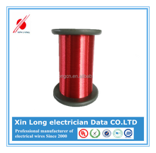Electric conducticity enameled copper clad aluminum wire for electric iron