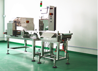 Newest Metal detector and check weigher integrate machine for food industry