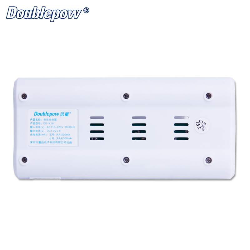 8 Slots K18 LED Intelligent Rapid Charger for 1.2V AA/AAA Ni-MH/Ni-CD Rechargeable Battery