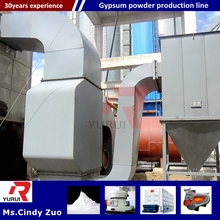 plaster of paris manufacturing company/production line for making plaster powder