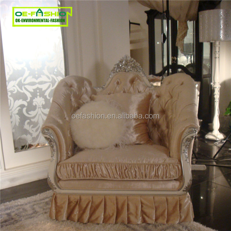 OEFASHION Victorian Royal <strong>Furniture</strong> For King Queen sofa Carved With Handmade
