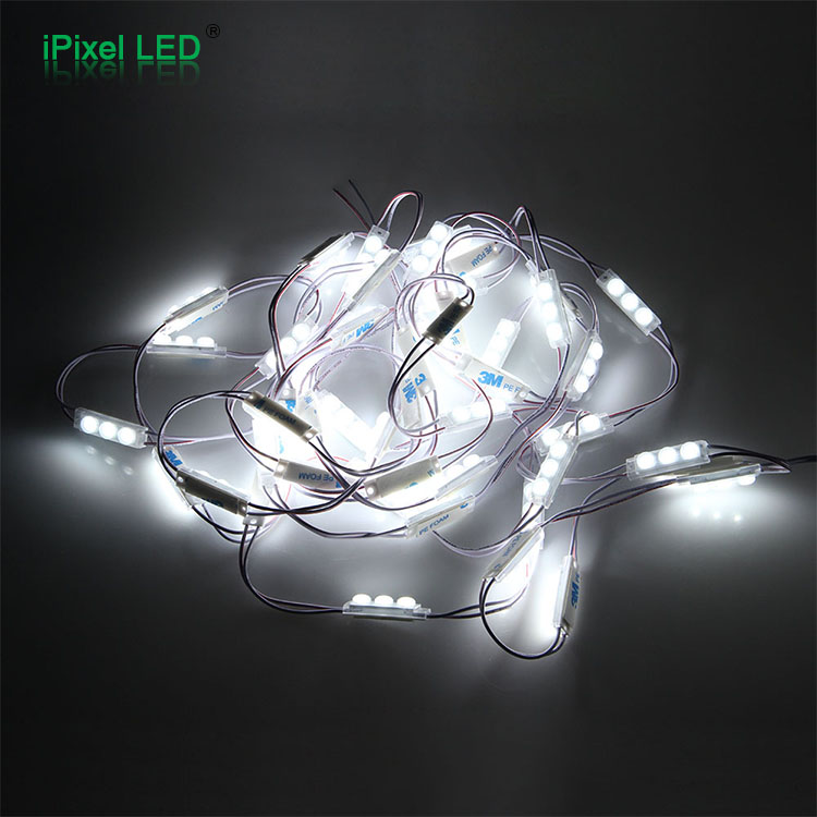 Small size channel letters 2835 high brightness white 3 led modle 12v,50 modules/string