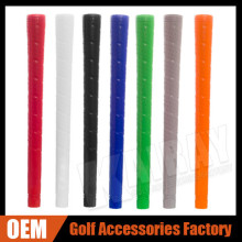 OEM & ODM Medium Perforation Rubber Wood / Iron Golf Grips
