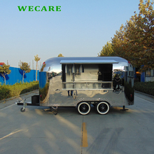 best quality new designed electricfast food mobile kitchen trailer