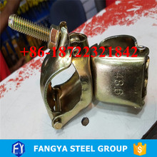 Stock ! galvanized swivel coupler scaffolding fencing coupler