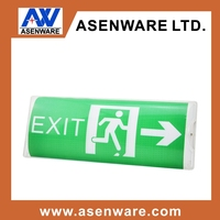 rechargeable emergency light batteries wall mounted emergency exit sign fire emergency light with ul