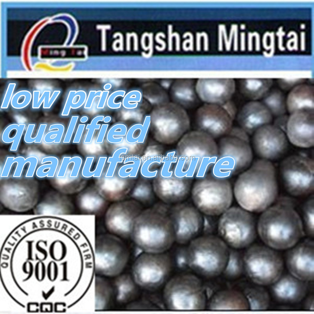 tangshan mingtai good toughness best selling products Diameter 40mm grinding casting alloy steel ball
