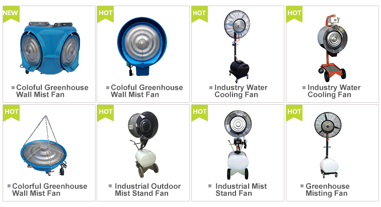Industrial evaporative air cooler water cooling fan
