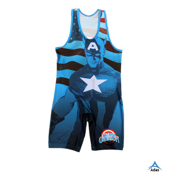 men's low cut custom wholesale wrestling singlet