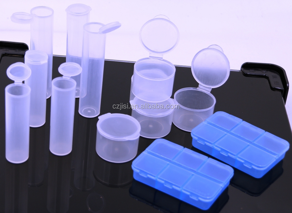 Clear hard plastic cylinder tube