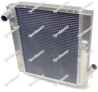 Performance aluminum auto Radiator for Nissan