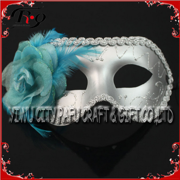 grey flower carnival venice mask