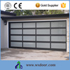 Cheap Electric Aluminium Glass Garage Doors