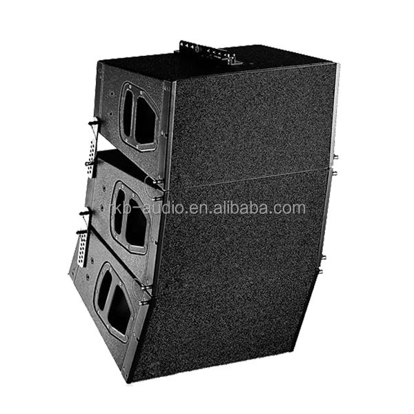 professional line array sound system/wooden speakers