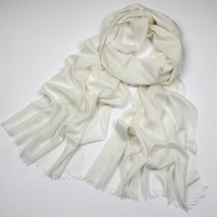 Ladies solid 100 viscose scarf