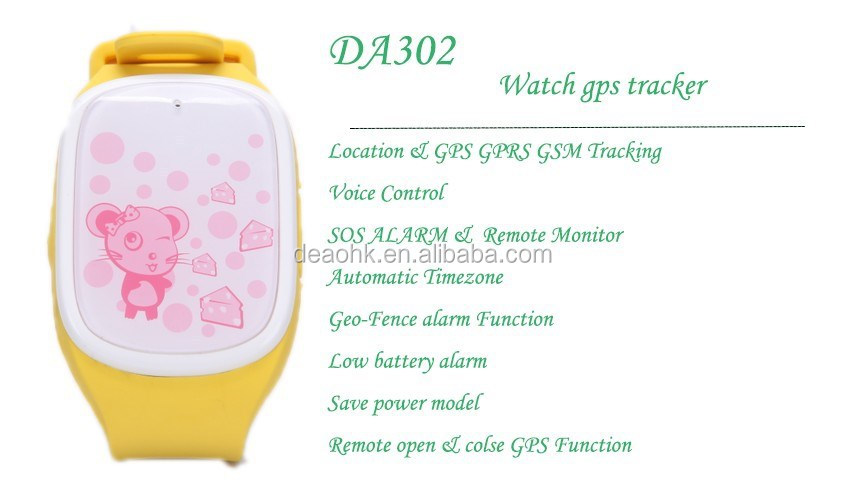 Factory GSM GPS wrist watch, GPS tracking bracelet, GPS tracker watch