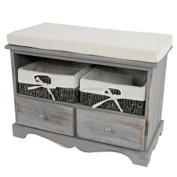 Shabby Look sitzbank kommode shabby look wood bench view shabby wooden bench