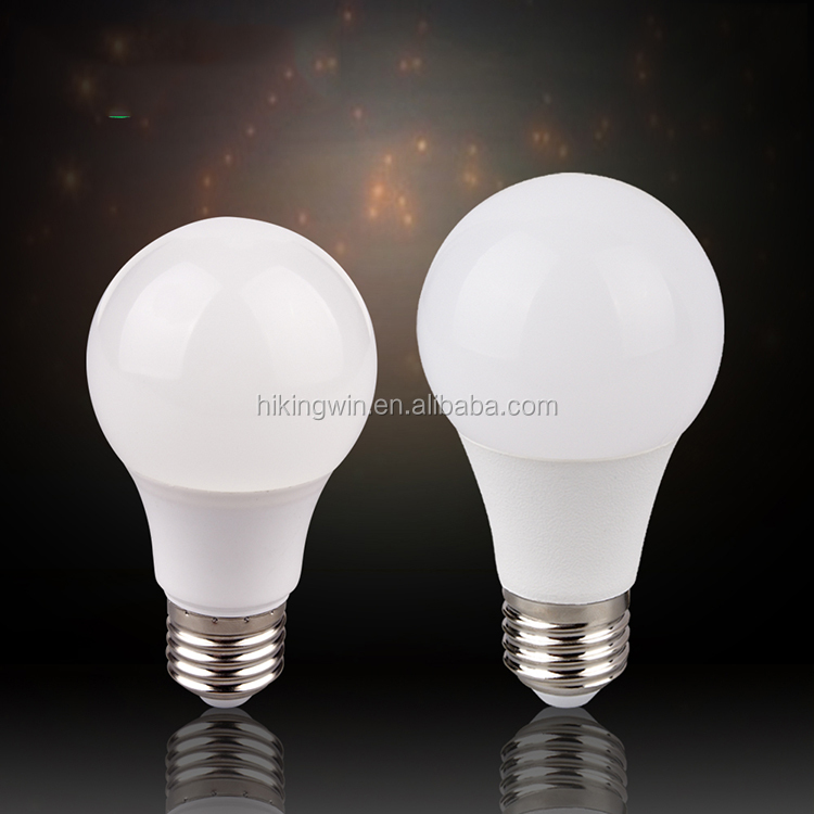 China Manufacturer aluminum+Heat dissipation PBT B22 5W 7W 9W 10W 12W 3W e27 a60 Led Bulb