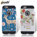 The design of drawbench colored drawing PC+TPU cell phone case for iphone6