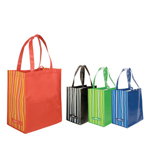 Reusable 125gsm laminated rpet grocery tote bag