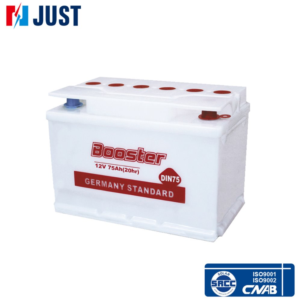 DIN75 12v Dry cell car battery