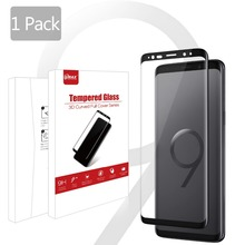 S9 Anti Scratch Waterproof Tempered Glass 3D Curved 9H 0.33 mm S9 + Screen Protector