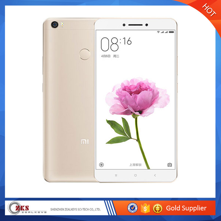 "Wholesale Xiaomi Mi <strong>Max</strong> Pro Prime 4GB RAM 128GB ROM smartphone Mimax 6.44"" Snapdragon 650 Hexa Core Gold"