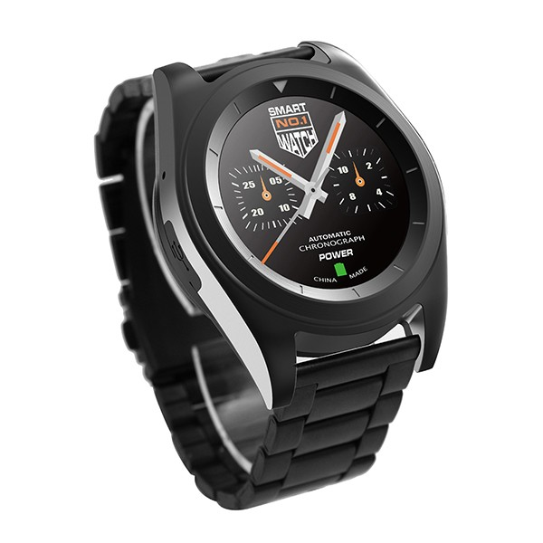 NEW Smart Watch Mobile Phone, NO.1 G6 Bluetooth 4.0 MTK2502 Stainless Steel Strap Mobile Phone for Sports and Buisness