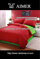 Bright 2015 plain dyed cotton fabric for bed sheet/trade assurance