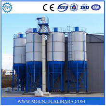 Space frame steel structure wheat grain silos import china goods
