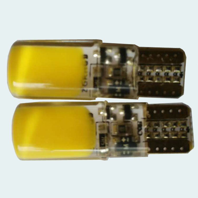 quick flashing auto bulb light t10 yellw flashing car lamp 3w cob t10 strobe width bulb