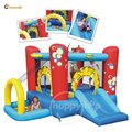 Happy hop Inflatable Play Center-9214 Bubble 4 in 1 Play Center