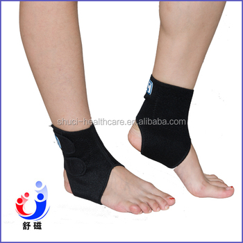 Foot Guard Magnets Adjustable Neoprene Ankle Support Brace One Fits All(ZFR-04E)