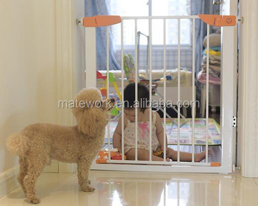 Durable Safety Pet Gate, Stair Safety Metal Baby Security Gate