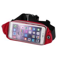 Waterproof Touch Screen Pouch Runing Waist Pack Sport Bag Belt For iPhone 6 6S Mobile Phone Bag For Samsung S6