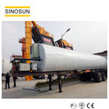 Supply 40-120tph asphalt mobile plant with CE,EAC certification