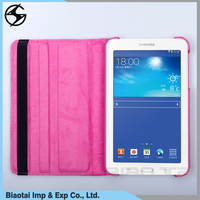 Chinese leather wallet cases for tablet double layer pu leather cases good protect your device for Samsung/Iphone tablet