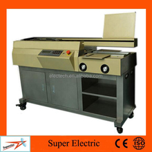 hot melt glue hardcover book perfect binding machine price8600D